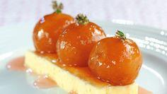 Sagopudding er en traver på dessertbordet. Forsøk Geir Skeies variant med syltede plommer!Kokk: Geir Skeie