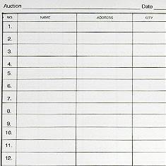 bidder registration forms