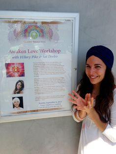 Hillary Pike on her Awaken Love Tour :)