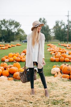 Fall Outfit Ideas | Sole Society Ankle Booties | Barrington Axis Tote