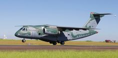 KC-390 Embarks on its maiden flight - Defense Update: Brazilian Air Force, Aircraft Design, Search And Rescue, Countries Around The World, Troops, Fighter Jets, Pilot, Aviation, Military