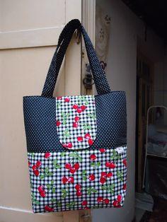 Bolsa de tecido de algodão