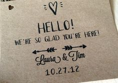 hotel bags for wedding guests | ... tied on with twine, and stuck a map & a thank you card in each bag