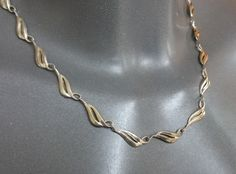 Vintage Halsschmuck - Altes, nostalgisches 835 Silber Collier HK111 - ein Designerstück von Atelier-Regina bei DaWanda