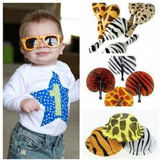 Zoo party favors