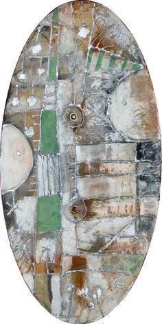 senza titolo - acrilico su tavola - 55x27,5 -  2012