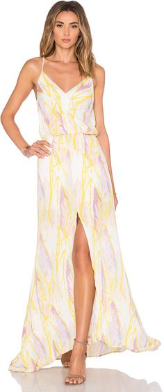 Karina Grimaldi Malena Maxi Dress
