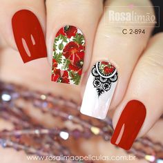 E que tal uma seleção com essas casadinhas maravilhosas!!!! Beautiful Nail Designs, Beautiful Nail Art, Gorgeous Nails, Nail Polish Designs, Nail Art Designs, Cute Nails, Pretty Nails, Gell Nails, Nail Arts