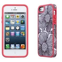 iPhone 5 + speck case #FreshBloomCoral