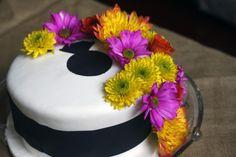 Floral Bridal Shower Cake Shower Cakes, Bridal Shower, Floral, Desserts, Food, Celebration Cakes, Couple Shower, Florals, Meal