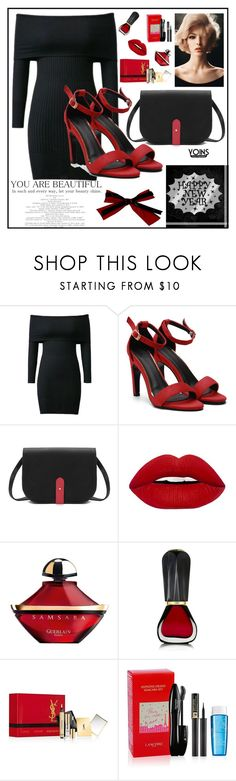 """""""Yoins #32/8"""" by s-o-polyvore ❤ liked on Polyvore featuring Guerlain, Oribe, Yves Saint Laurent, Lancôme, yoins, yoinscollection and loveyoins"""