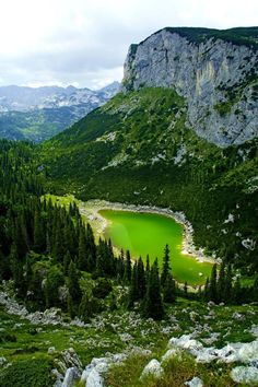 A quaint scene of one of the 18 lakes in the Durmitor national park in north-western Montenegro.