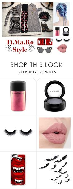 """""""Follow me on Instagram✌🏻️ @tiffanynonsense : my clothes, my style"""" by tmr3 ❤ liked on Polyvore featuring MAC Cosmetics and Casetify"""