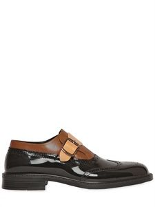 Patent Leather Monk Strap Shoes  :  Vivenne Westwood