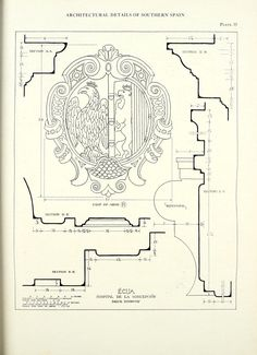 Architectural details of southern Spain by Mack, Gerstle -   Published 1928