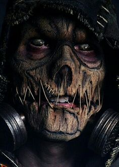Cosplay of Scarecrow from Batman Arkham Knight Gas Mask Art, Masks Art, Arte Horror, Horror Art, Creepy Art, Scary, Cocoppa Wallpaper, Totenkopf Tattoos, Tattoo Hals
