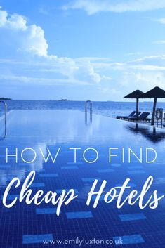 My guide to finding the cheapest hotels this year using Club 1 Hotels - an amazing service that helps you find cheap hotels at wholesale rates Budget Travel, Travel Tips, Find Cheap Hotels, In 2019, Hotel Reviews, Trip Planning, Travel Inspiration, Around The Worlds, Viajes