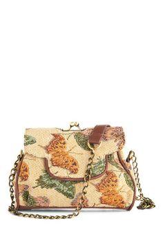 Total Transformation Bag - Tan, Multi, Print with Animals, Trim, Vintage  Inspired 35546cfa52