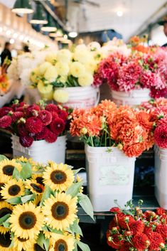 Place Market Fresh flowers at Pike's Place Markets, Seattle, WAFresh flowers at Pike's Place Markets, Seattle, WA May Flowers, Fresh Flowers, Wild Flowers, Beautiful Flowers, Summer Flowers, Bright Flowers, Tropical Flowers, Flower Aesthetic, Flower Farm