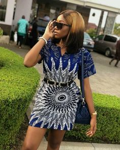 Ankara Short Gown Styles, Short Gowns, African Print Dresses, African Dresses For Women, African Attire, African Women, Ankara Styles For Women, African Prints, African Fabric