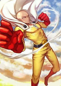 Evan Yang, One Punch Man, Saitama (One Punch Man), Superhero, Bald, Anime #anime #onepunchman | zerochan.net | www.evilentertainment.ca