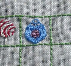 Needle and Thread Adventures: 25 Days of Christmas Stitchalong: Day 4