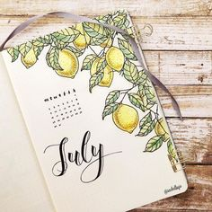 Hello July! I just can't believe that I've been doing this bullet journal for almost 6 months now. I love doing it and my life becomes so…