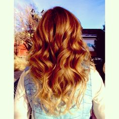 red hair ombre - Google Search