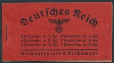 Germany stamp (GE). Complete booklet, VERY FINE, og, NH. Latest Scott  Value: $353.00 Stock #356284 || #philately