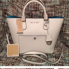 Bored need something new wanting to trade Needs cleaning still in awesome condition Michael Kors Bags