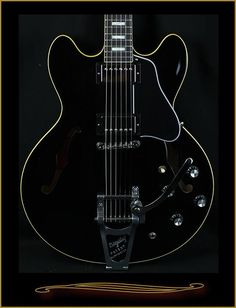 limited edition Gibson in Ebony with Bigsby. Telecaster Guitar