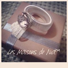 Jewelry wire ring #lesmaisonsdenia
