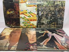 Rod Stewart Vinyl Record Lot of 6 Record Albums - Sing it Again, Foot Loose, etc