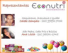 ECONUTRI Produtos Naturais: Representantes Econutri (Região dos Lagos/RJ)