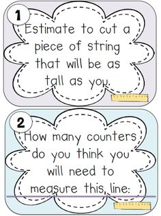 Estimation Station-task cards to go beyond the estimation jar!