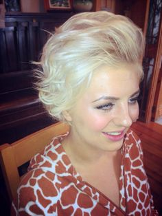 Bridesmaid hairstyle :)