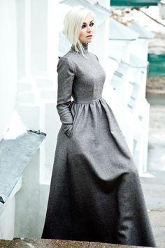 Платье в пол | TheLook