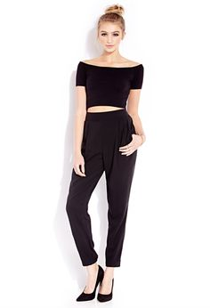 Everyday Casual Trousers | FOREVER 21 - 2000109914