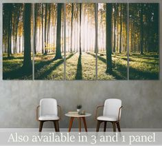 """Modern wall art 'AUTUMN FOREST""""   Wide variety of sizes available from small to extra large++   Price starts from just $59,99 USD   Enjoy FREE SHIPPING if you purchase 2 or more at a time - Use coupon code: SHIP4FREE"""