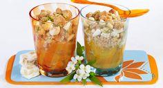Crumble d'abricots au nougatVoir la recette >>