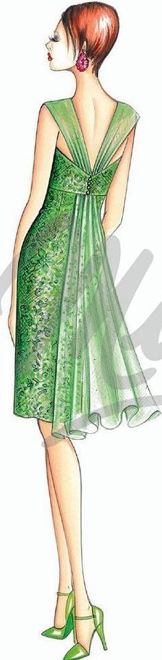 Marfy Fashion Illustration