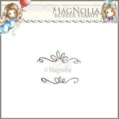 Magnolia Rubber Stamp - AY14 Summer Swirls