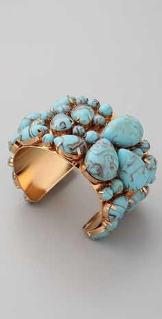 Stunning turquoise piece!
