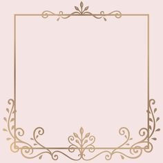 Discover thousands of copyright-free vectors. Graphic resources for personal and commercial use. Thousands of new files uploaded daily. Background Design Vector, Frame Background, Background Vintage, Vintage Flowers Wallpaper, Rose Gold Wallpaper, Doodle Frames, Wedding Invitation Card Template, Wedding Invitations, Invites