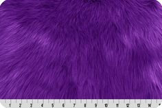 Monkey Shag Fur Purple