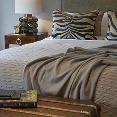 Safari luxe in this guest bedroom I designed with my client in Chelsea. #bedroom #interiordesign #sophiepatersoninteriors #chelsea