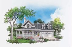 House Plan The Grayson by Donald A. Gardner Architects