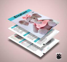 Crochet Pattern Elephant English/ Crochet Elephant PATTERN | Etsy Crochet Elephant Pattern, Crochet Doll Pattern, Crochet Patterns, Bisquick, English, Dolls, Etsy, Amigurumi, Baby Dolls