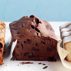 This luscious loaf packs double the dose of chocolatey goodness thanks to cocoa powder and chocolate chips.