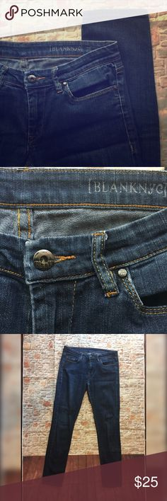 [BLANK NYC] denim jeans 💎 29 💎 [BLANK NYC] jeans - size 29 - from a pet and smoke free home Blank NYC Jeans Straight Leg